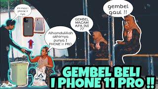 GEMBEL BELI I PHONE 11 PRO CASH 30 JUTA DI TEMPAT UMUM !!