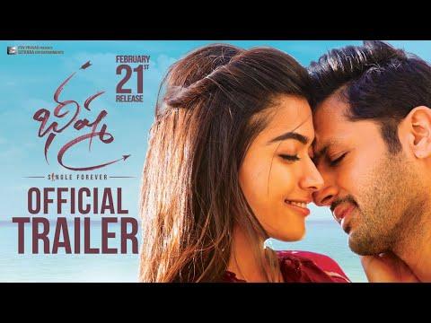 Bheeshma Theatrical Trailer Nithiin Rashmika Mandanna Venky Kudumula Youtube