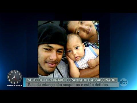 Casal é detido por suspeita de torturar e matar o filho bebê | Primeiro Impacto (04/09/18)