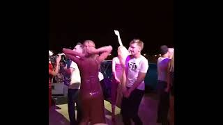 Кристина Орбакайте танцует с Дени Байсаровым в Баку