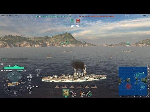 World of Warships - More Wyoming Fun!