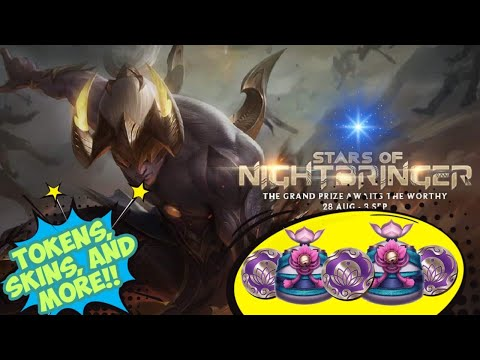 League Of Legends - Stars Of Nightbringer Details, Tips, and Guides || Skins of choice!!
