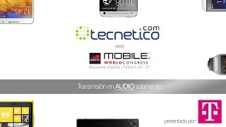 Tecnético en Mobile World Congress, programa especial por WKAQ 580 AM en vivo desde Barcelona