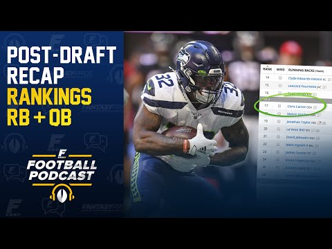 Early Running Back & Quarterback Rankings (2020 Fantasy Football)