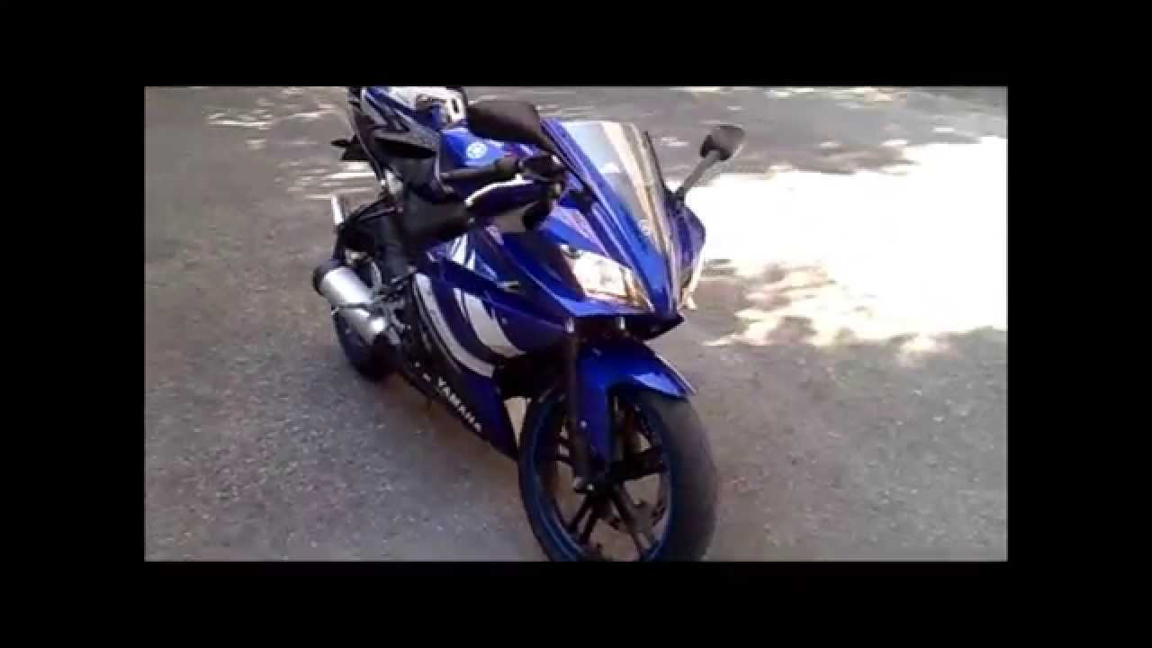 Yamaha yzf r125 usata moto usate 2016 car release date - Yamaha Yzf R125 Blu Blue 2011 Part 3 Repaired Exhaust Mod Youtube