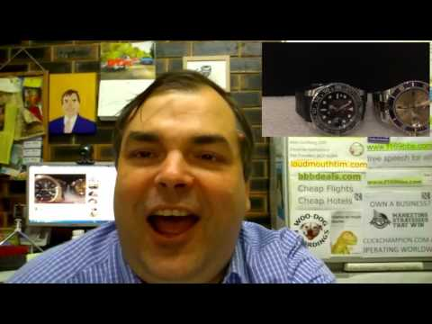 PAID WATCH REVIEWS - Chaosphizzle Rolex Submariner GMT Swap Deal Dilemma
