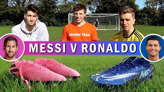 Ronaldo's £260 Boots v Messi's £180 Boots | ft. W2S & Kieran Brown