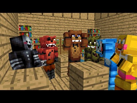 FNAF Monster School: Season 1 - Minecraft Animation (Five Nights At Freddy's)
