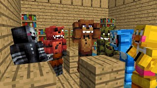- FNAF Monster School Season 1 Minecraft Animation Five Nights At Freddy s
