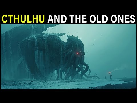 The God Cthulhu (and other Lovecraftian OLD ONES) Explained | Cthulhu Mythos Lore