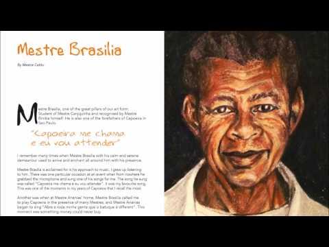 Tributo aos Mestres Art Book   Mestre Brasilia