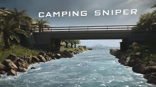 Camping Sniper ep.2 - Battlefield 4 clips