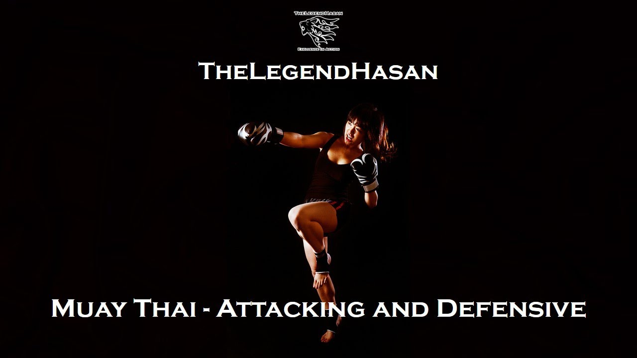 muay thai attacking and defensive techniques full hd