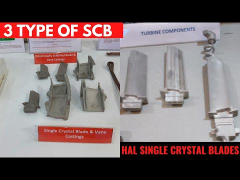 India's 3 Type of Single crystal blades for AERO engines