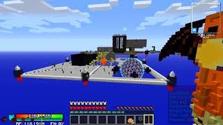 Minecraft SkyTech выживание в соло - 13 Взрываем реактор