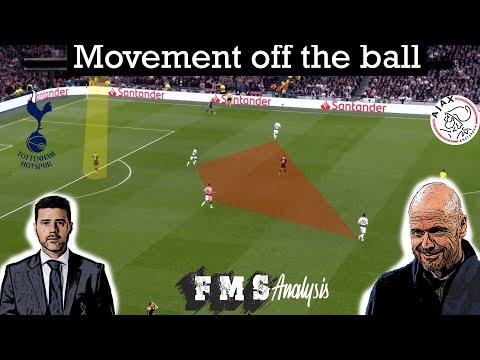 Tottenham 0-1 Ajax| Tactical review | Pochettino vs Ten Hag | How to use off the ball movement|