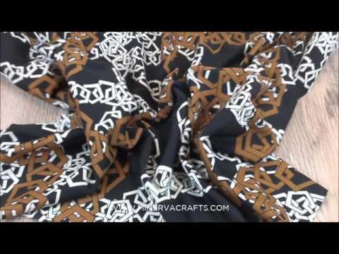 Italian Chain Link Ponte Roma Stretch Jersey Dress Fabric