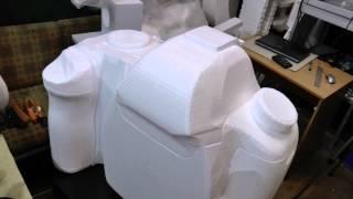 Изготовление 3D модели фотоаппарата из пенопласта(Изготовление 3D модели фотоаппарата из пенопласта (пенополистирола) на станке СРП-3222 с поворотным столом...., 2014-03-29T13:05:00.000Z)