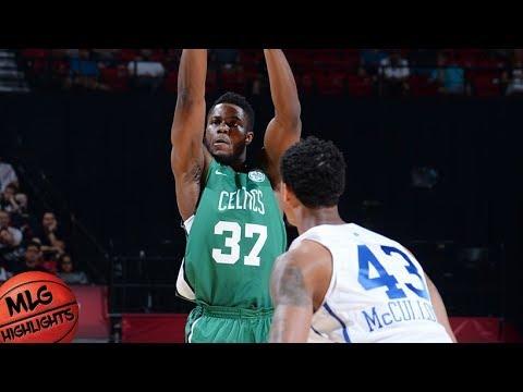 Boston Celtics vs Philadelphia Sixers Full Game Highlights / July 6 / 2018 NBA Summer League