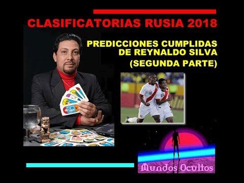 Clasificatorias Rusia 2018: Predicciones cumplidas de Reynaldo Silva PRIMERA PARTE