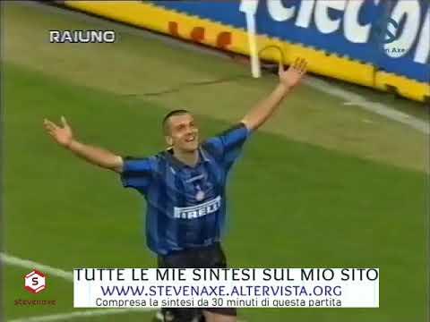 Perle dialettiche di Bruno Pizzul (Inter Guingamp 1996, Zanetti Wreh)