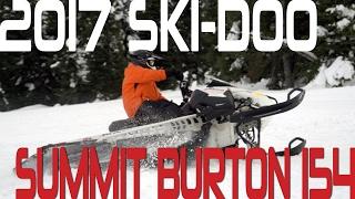 STV 2017 Ski-Doo Summit Burton 154
