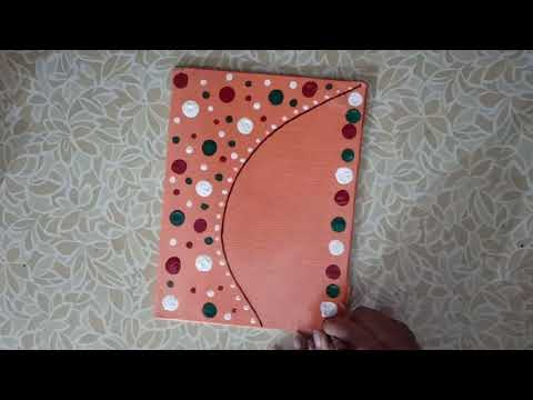 Diy 3 Notebook Cover Design/How to Decorate Notebook Cover /Notebook Decoration Ideas For School.