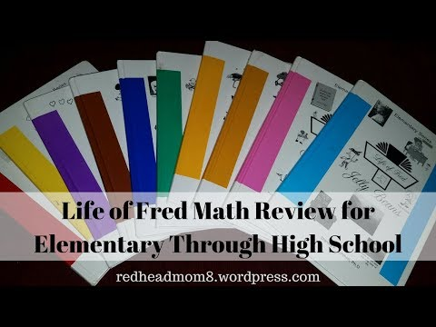 Life of Fred Math Review for Elementary Through High School