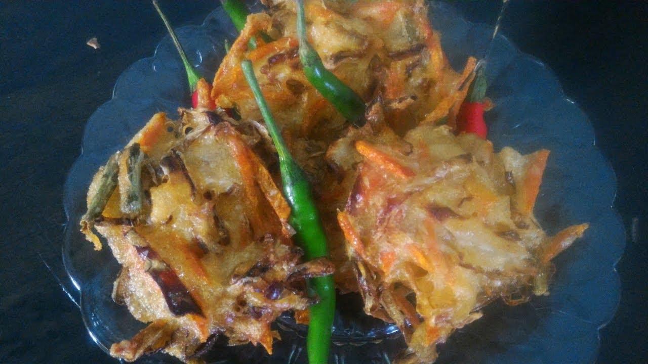 Resep & cara memasak BAKWAN SAYUR - YouTube