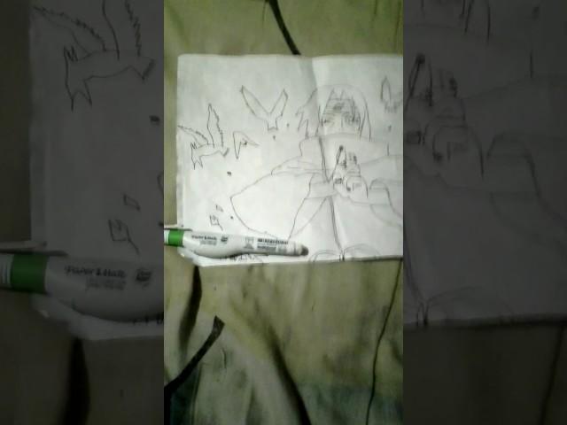 Itachi uchia drawing