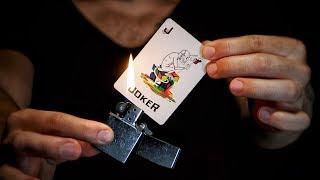 How to MELT a CARD!? Magic Trick // TUTORIAL