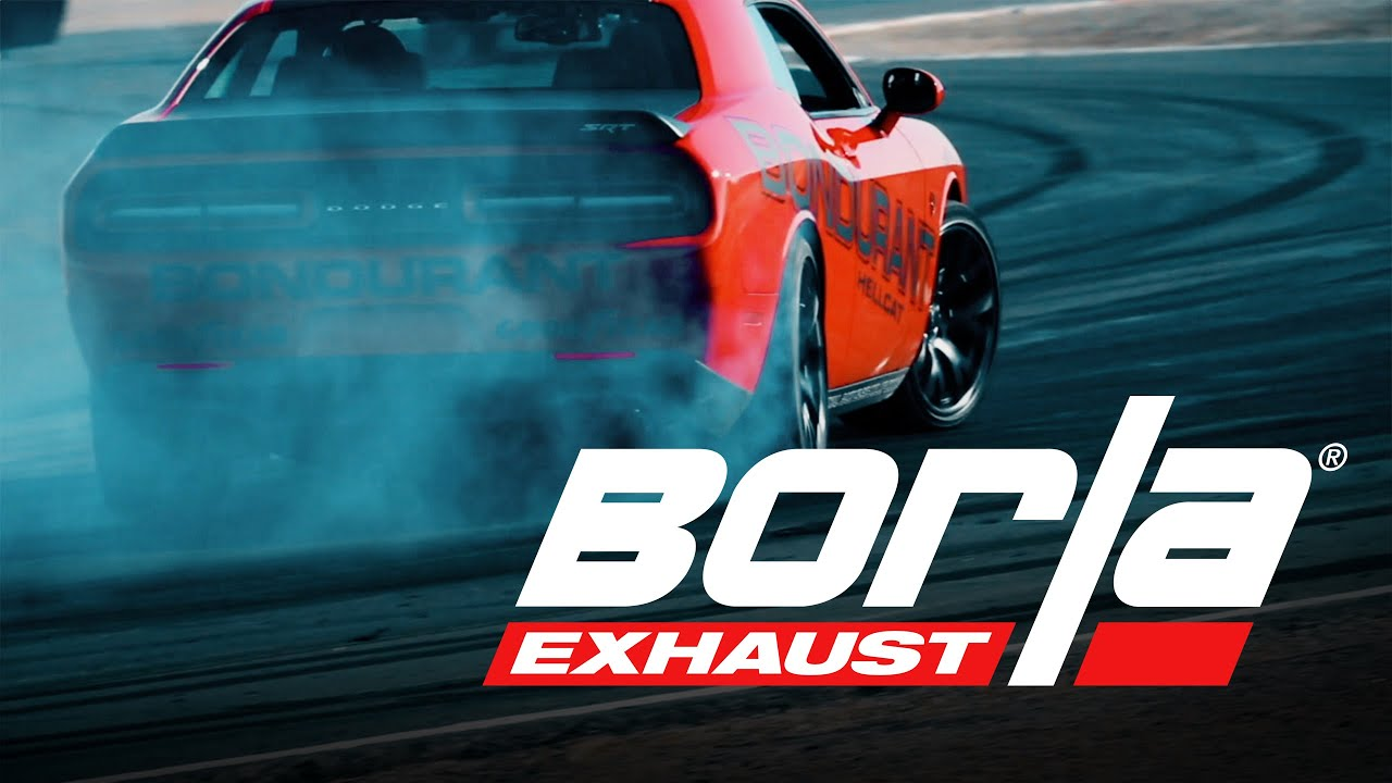 borla exhaust for 2015 2021 dodge challenger hellcat exhaust system sounds