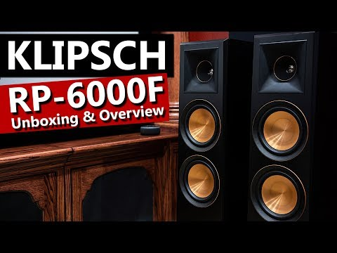 Klipsch RP 6000F Reference Premiere Speakers - Unboxing and Overview