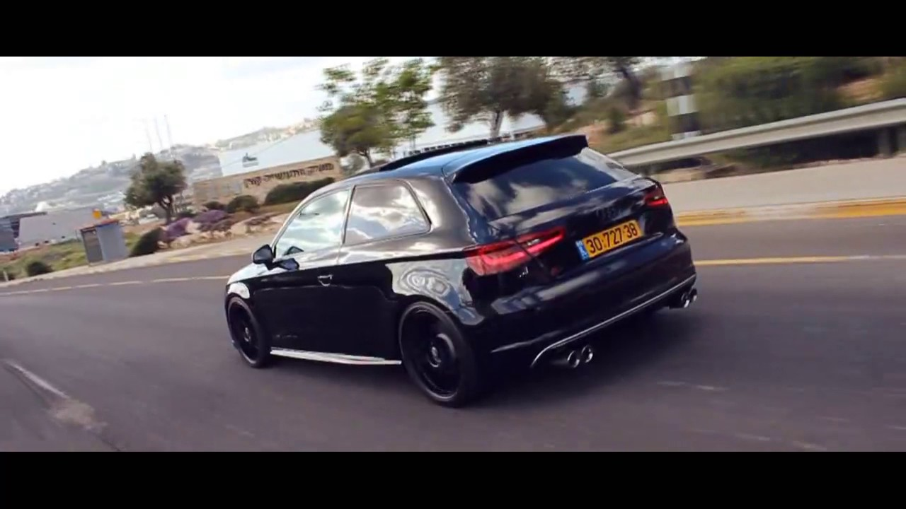 audi s3 8v sportback armytrix exhaust oz wheels. Black Bedroom Furniture Sets. Home Design Ideas