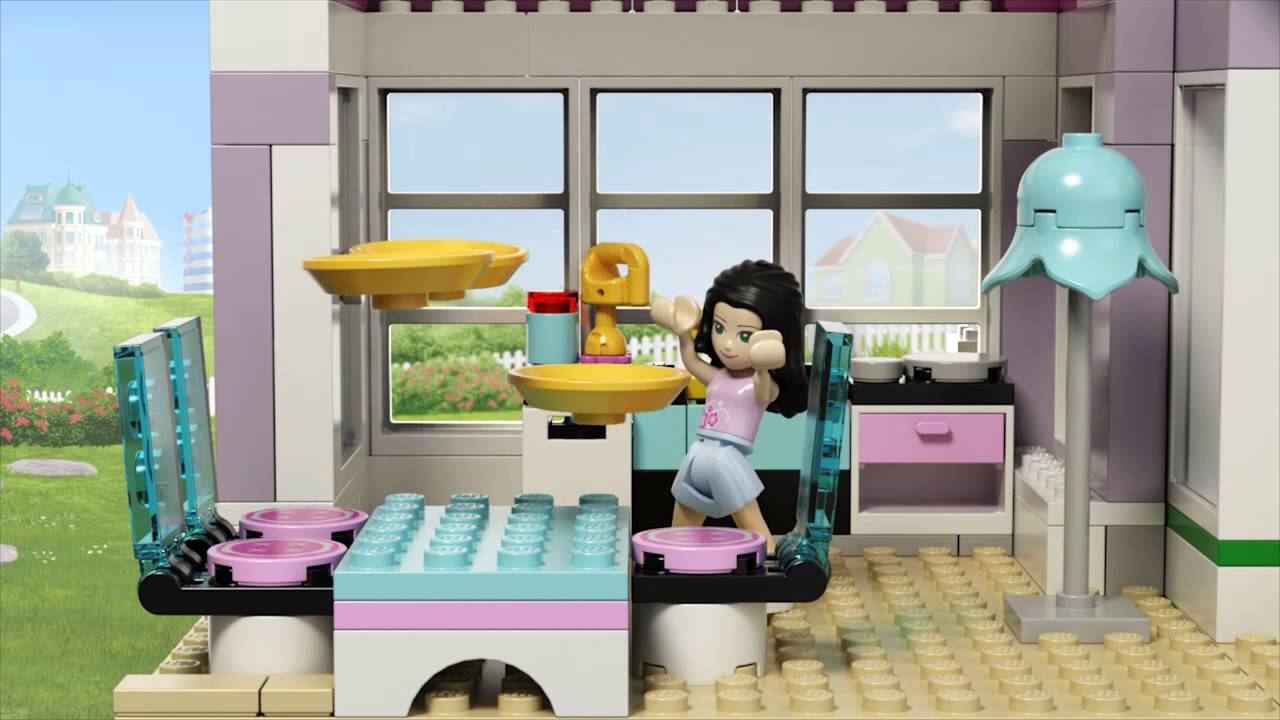 Smyths Toys Lego Friends Emmas House 41095 Youtube