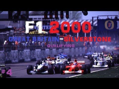 F1 2000 // R04: GREAT BRITAIN-SILVERSTONE IDŐMÉRŐ EDZÉS // #4
