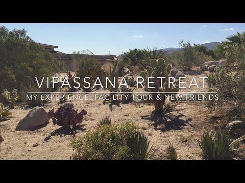 My Vipassana Experience + Facility Tour & New Friends!