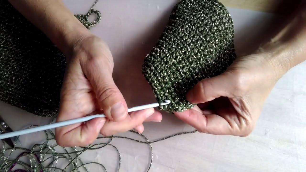 Stella Di Natale Uncinetto Tutorial.Tutorial Presina Con Stella Di Natale How To Crochet A Christmas Potholder Poinsettia