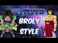 Broly Style (DBZ Version and DBS Version) DC Universe Online!