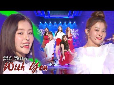 [HOT]RED VELVET - WITH YOU , 레드벨벳 - 한 여름의 크리스마스   Music core 20180811