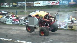 Bad Ass Monster Trucks At Saratoga Speedway
