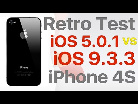 Retro test : How well does iOS 9.3.3 stack up against iOS 5.0.1 on iPhone4S?
