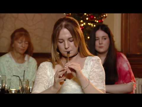 Órlaith McAuliffe and Dan Griffin - Tin Whistle and Bodhrán