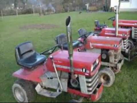 Charming 4/5 Massey Ferguson Garden Tractors Running.   YouTube Amazing Ideas
