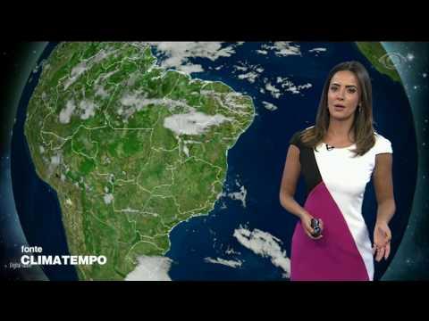 Quarta-feira terá risco de temporais em quase todo o país