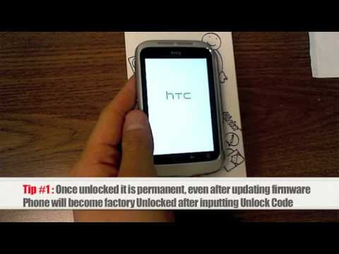 Unlock HTC Wildfire S | How to Unlock HTC Wildfire S By Sim Network Unlock Pin | Without Rooting