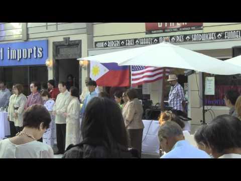 4th Annual Kayamanan ng Bayan on New York Street in CBS Studio Center