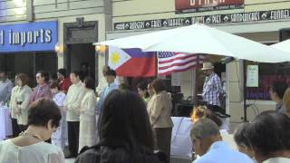 4th Annual Kayamanan ng Bayan on New York Street in CBS Studio Center
