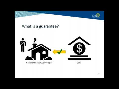 Webinar: Catalytic Capital- Using Guarantees to Unlock Priva
