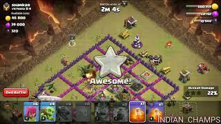 Heart attack raid || clash of clans || coc